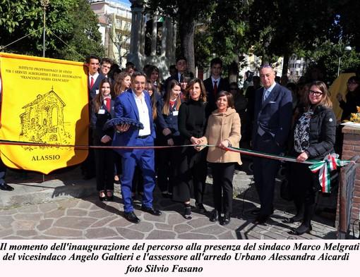 """Alassio, inaugurato il percorso """"Donne Coraggiose"""" (FOTO)"""