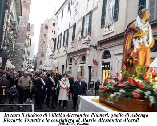 Conclusa la Festa di Santa Lucia ad Albenga, la patrona della comunità siciliana (FOTO)