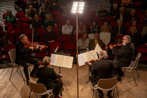 """Finale, ieri il concerto dell'affiatatissimo """"Quartetto Maffei"""""""