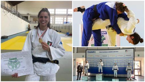 Judo, titolo italiano juniores per l'alassina Giulia Ghiglione: i complimenti dell'amministrazione comunale