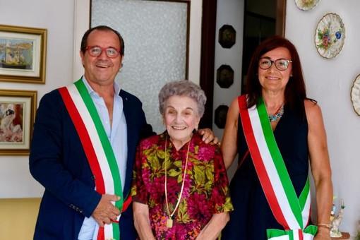 Millesimo, una grande festa per i 100 anni di Lucia Icardi