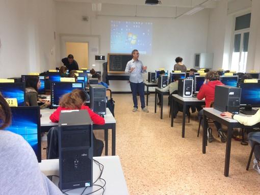 """Al """"Falcone"""" di Loano il progetto """"Georientiamoci"""" del Collegio dei Geometri di Savona"""