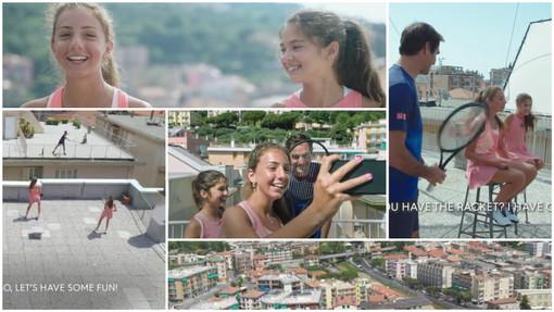 Altre due apparizioni tra i grandi dello sport per Carola e Vittoria: lo scambio tra i tetti finisce anche su due importanti spot pubblicitari