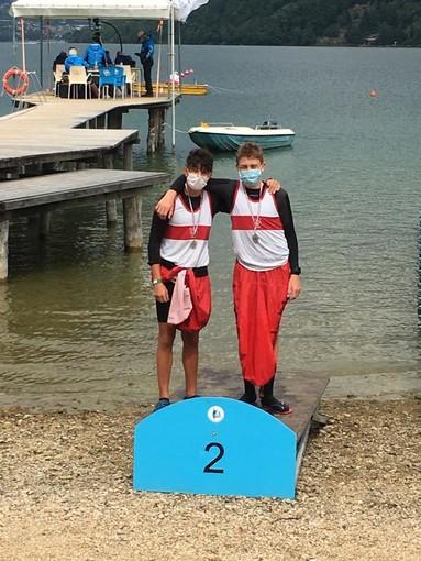 Michael Battaglia e Filippo Spezialetti all'argento nei 2000 metri