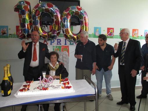 """Borghetto, Giorgina Boano spegne 100 candeline alla residenza per anziani """"Humanitas"""""""