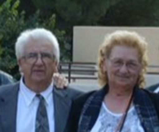 Nozze di diamante a Vezzi Portio per Giuseppe D'Amato e Libera Veglienzone, da 60 anni insieme mano nella mano
