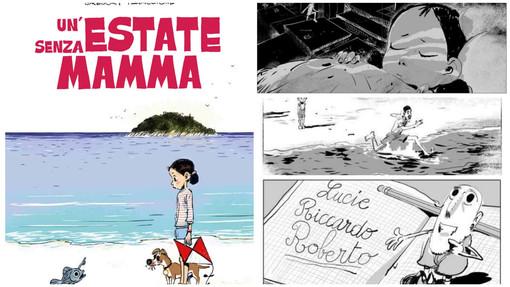È ambientata sull'Isola Gallinara 'Un'estate senza mamma' di Grégory Panaccione