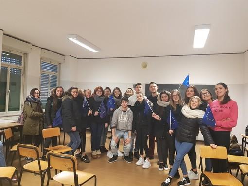 """Integrazione europea e diritto comunitario: due tematiche affrontate dagli studenti dell'Istituto """"Patetta"""" di Cairo"""