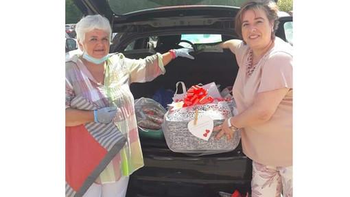 Andora, dagli anziani dei centri sociali 250 cuori al personale dell'ospedale di Albenga