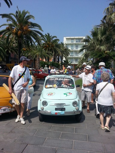 Garlenda, concluso ieri il 32° Meeting Internazionale Fiat 500