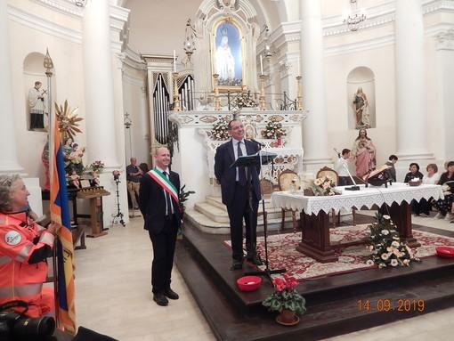 Mallare, celebrata la cerimonia per festeggiare i primi restauri nel santuario di N.S. dell'Eremita (FOTO)