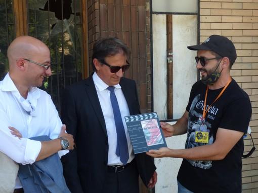 Cairo Montenotte, colpo di scena sul set cinematografico: il piccolo e bellissimo Francesco viene al mondo durante l'ultimo ciak