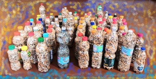 Quasi 35000 mozziconi raccolti sulle spiagge di Albisola Superiore