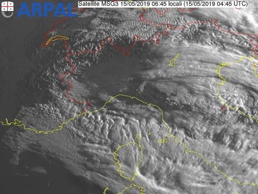 Dopo i temporali schiarite in arrivo, ecco le previsioni Arpal