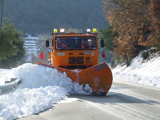 Temperature sotto lo zero e dopo il gelo, la neve: un'apocalisse meterologica nel Savonese