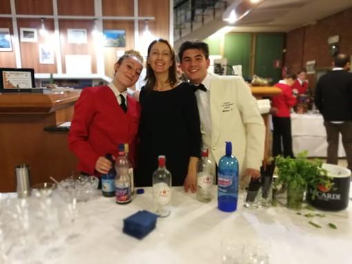 Successo per la cena di gala dedicata agli alunni speciali dell'alberghiero di Alassio