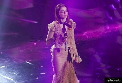 Annalisa Scarrone a Sanremo 2018 - Foto di Duilio Rizzo