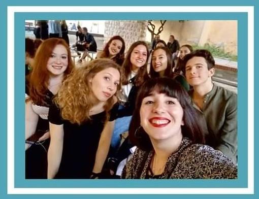 I cantanti dell'Accademia Musicale del Finale in concerto a Vado Ligure