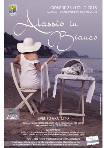 """Ad Alassio la 3° edizione di """"Alassio in Bianco"""""""