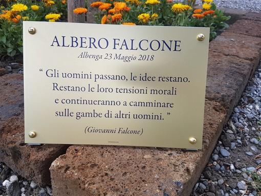 Un forte boato 26 anni fa squarciò l'Italia dell'antimafia, anche Albenga oggi ricorda la strage di Capaci