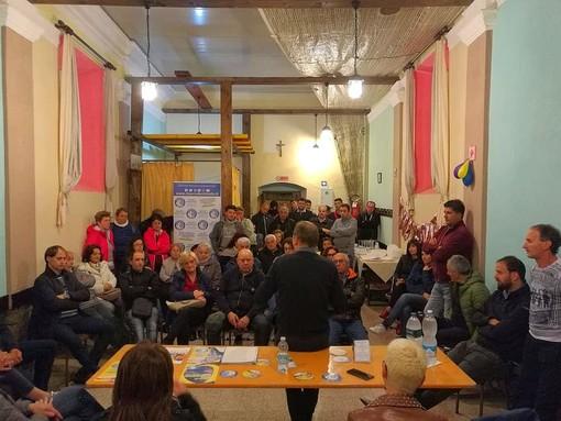 Andora, Demichelis e la sua lista incontrano i cittadini nella frazione San Pietro - Molino Nuovo