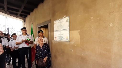 Savona, intitolata a Giuseppe Aonzo una targa sulla Torretta ma gli Antifascisti non ci stanno