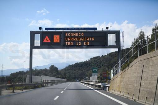 I cantieri su A10 e A6 per la prossima settimana: prevista chiusura sullo svincolo Pietra Ligure e tratta Borghetto S.S.-Albenga