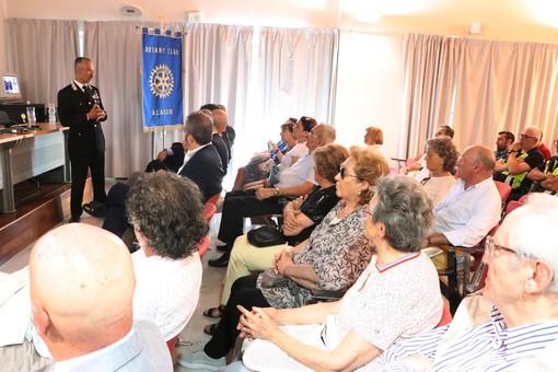 Ad Alassio una conferenza sulla sicurezza organizzata dal Rotary Club (FOTO)
