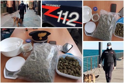 """Alassio, pusher arrestato dai carabinieri: vendeva droga sul """"Dark Web"""" e riceveva pagamenti in bitcoin (FOTO e VIDEO)"""