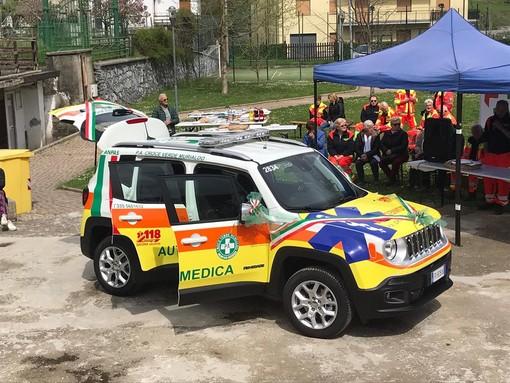 Inaugurata la nuova automedica 4x4 della Croce Verde di Murialdo (FOTO e VIDEO)