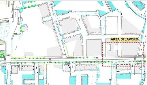 Albisola abbatte le barriere architettoniche: al via i lavori su una parte dei marciapiedi in corso Mazzini