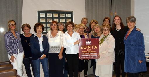 Iniziata l'attività dell'anno sociale  dello Zonta  Club di Alassio-Albenga