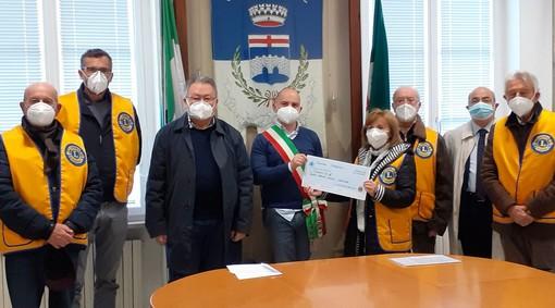 2 mila euro per sostenere una famiglia in difficoltà: presentata a Carcare l'iniziativa del Lions club Valbormida