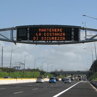Autostrade: i cantieri sulla rete ligure fino al 28 maggio