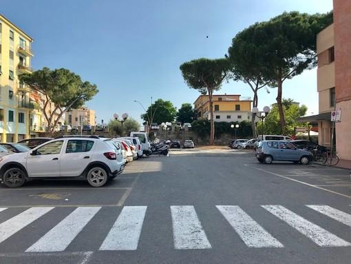 Albenga, riaperta piazza Matteotti (FOTO)