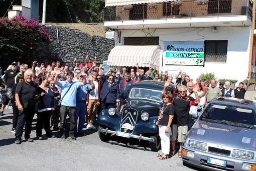 Auto d'epoca a Toirano: oltre 60 equipaggi al raduno (FOTO)