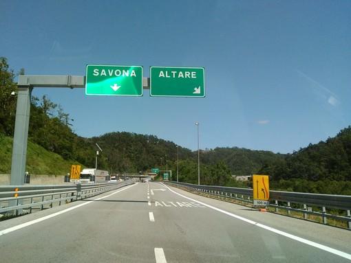 #Infoviabilità: chiusa per lavori la tratta autostradale Savona-Altare