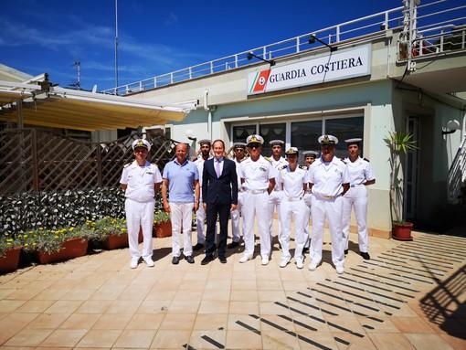 Alassio, Laigueglia e Andora: il Comandante Generale della Guardia Costiera in visita ai comandi territoriali