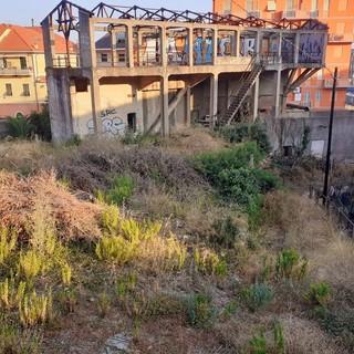 Nelle foto l'area ex Italcementi
