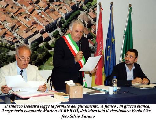 Villanova, Pietro Balestra presenta la giunta: vice sindaco Paolo Cha (FOTO)