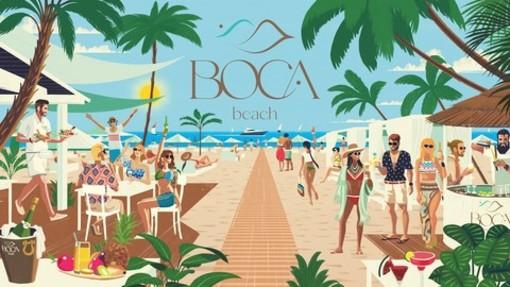 Un nuovo beach club per l'estate di Sanremo, il 25 giugno apre il 'Boca'