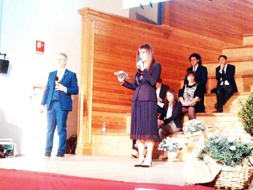 Nella foto di repertorio: Barbara Raso durante il convegno BNI a Finalborgo
