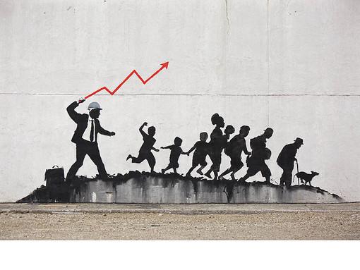 """Natale 2020"": Banksy in mostra a Finale Ligure"