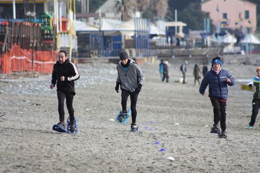 """Il team """"Eunike"""" di Albisola agli Special Olympics Games Nazionali Invernali di Bardonecchia"""