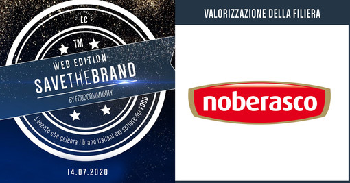 Save the Brand Web Edition 2020: il premio riconosciuto a Noberasco tra le imprese italiane che si sono distinte nel settore Food