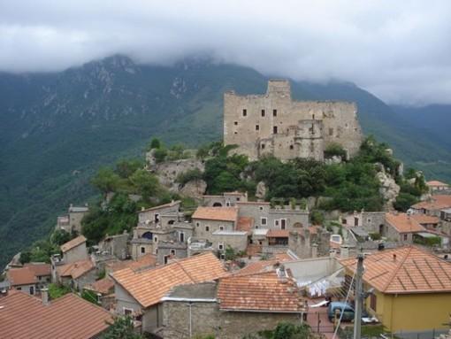 SP44 interrotta tra Castelvecchio e Balestrino