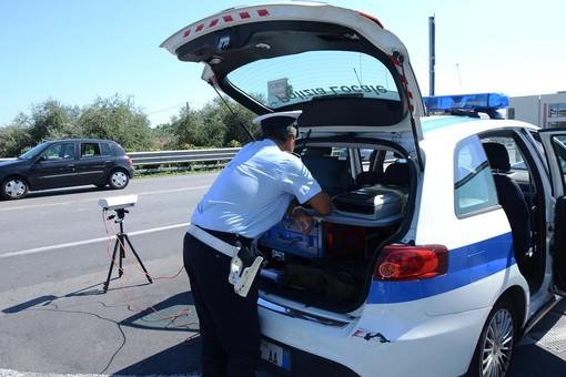 Pattuglione con il sistema di Controllo Targa System da parte della Polizia Locale di Ceriale