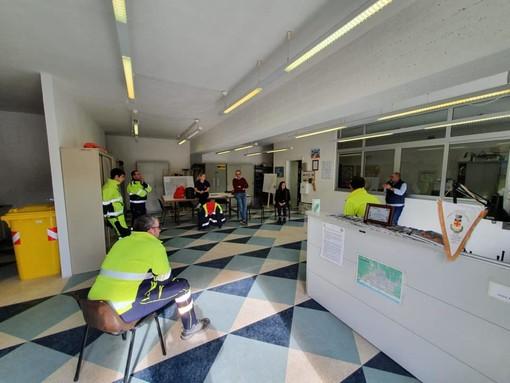 Coronavirus, a Borghetto Santo Spirito è operativo il COC (FOTO)