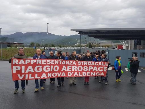 Piaggio Aerospace: domani l'incontro al Mise con i lavoratori e i sindacalisti anche Regione e amministratori del territorio