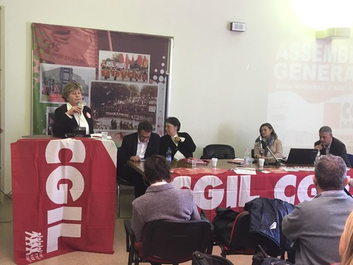 """Elezioni provinciali CGIL, Camusso: """"Sull'area di crisi ancora molto lavoro da fare"""""""
